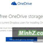 Thêm 100GB OneDrive qua DropBox